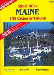 Maine-Cities-and-Towns-Atlas-by-Arrow-Map-Inc-Staff-2000-Other