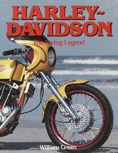 Harley-Davidson-The-Living-Legend-by-William-Green-1991-Hardcover