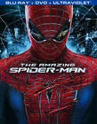 The Amazing Spider-Man (Blu-ray/DVD, 2012, 3-Disc Set, Includes Digital Copy; UltraViolet)
