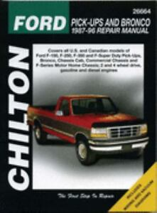 1987-1996 Ford F150 F250 F350 SuperDuty PickUp Bronco ...
