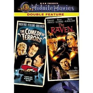 The Comedy of Terrors/The Raven - Midnit...