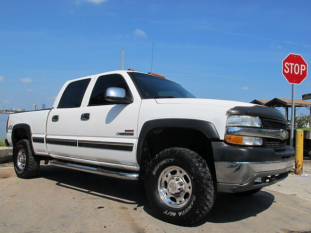 2002 chevrolet silverado 2500hd 4x4 crew cab sierra. Black Bedroom Furniture Sets. Home Design Ideas