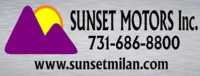SUNSET MOTORS INC MILAN TN
