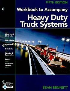 Heavy-Duty-Truck-Systems-by-Sean-Bennett-2010-Paperback-Workbook