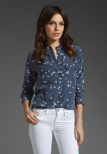 How to Style a Blouse to Go from Day to Night