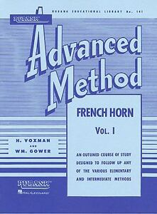 RUBANK ADVANCED METHOD VOL 1 - FRENCH HORN