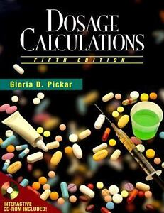 Dosage Calculations Nursing Education 827367805 Ebay