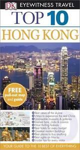 DK Eyewitness Top 10 Travel Guide: Hong Kong-ExLibrary