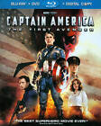 Captain America: The First Avenger (Blu-ray/DVD, 2011, 2-Disc Set, Includes Digital Copy)