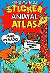 Rand McNally Animal Sticker Atlas, Rand McNally Staff, 0528835866