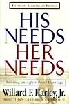 His Needs, Her Needs, Willard F. Harley, 0800717880
