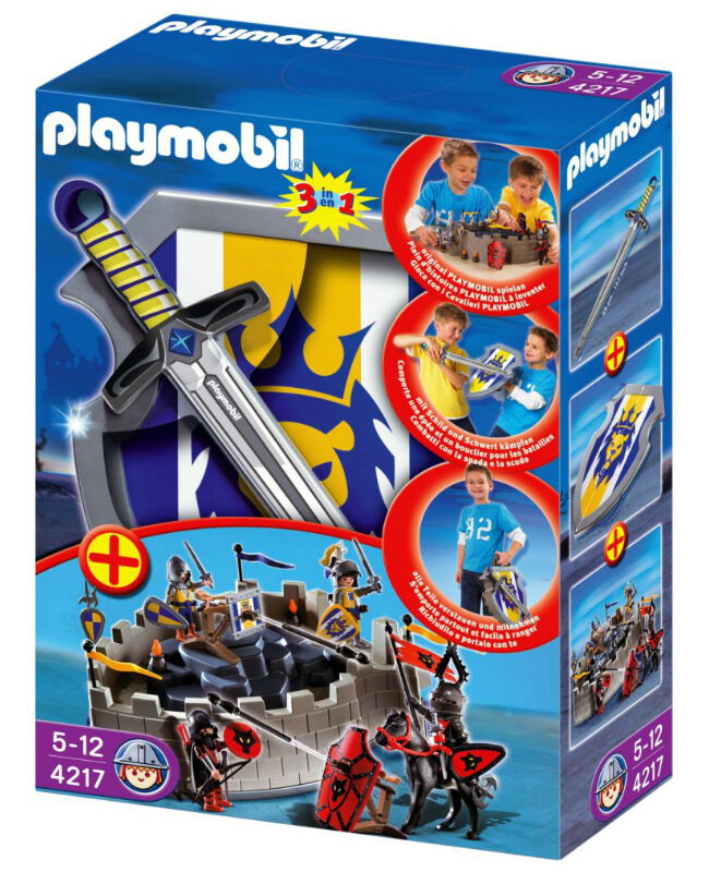 im vergleich unterschiedliche rittersets von playmobil