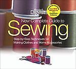 The New Complete Guide to Sewing  by Reader's Digest (2010, Hardcover, Updated)