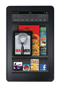 Amazon Kindle Fire 8GB, Wi-Fi, 7in - Bla...