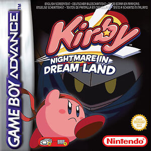 Kirby - Nightmare In Dream Land - Nintendo GameBoy Advance Spiel - NEU/OVP