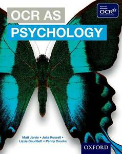 OCR AS Psychology Student Book-ExLibrary