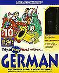 Living Language Triple Play Plus German, Syracuse Language Systems Staff and Living Language Staff, 0609602608