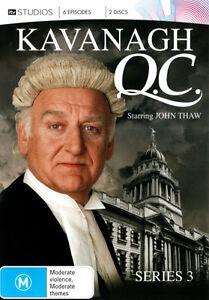 Kavanagh-Q-C-Series-3-DVD-2012-2-Disc-Set-R4-terrific-Condition
