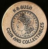 k-b-bush coins and collectables