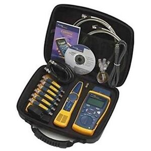 Fluke Networks Ciq Kit Cable Tester For Sale Online Ebay