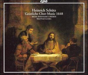 Schutz/geistliche Chormusik CD NEW