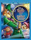 The Adventures of the Great Mouse Detective (Blu-ray/DVD, 2012, 2-Disc Set, Canadian; Mystery in the Mist Edition; French)