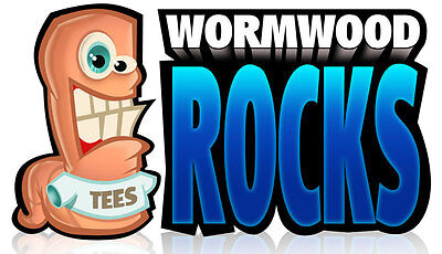 WORMWOOD ROCKS T-SHIRTS