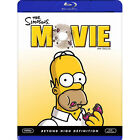 The Simpsons Movie PG-13 Rated Blu-ray Discs