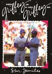 Ken Griffey, Jr. and Ken Griffey, Sr., Skip Press, 0896868818