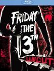 Friday the 13th - Part 1 (Blu-ray Disc, 2009, Uncut Deluxe Edition; Sensormatic)