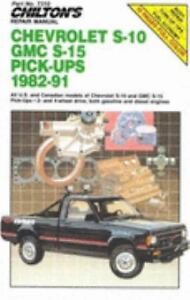 Chevrolet-S-10-GMC-S-15-Pick-ups-1982-91-Update-1991-Paperback