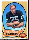 Fred Biletnikoff Single Football Trading Cards