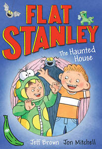 Flat-Stanley-and-the-Haunted-House-Green-Banana-by-Jeff-Brown-Paperback-2011