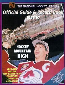 The NHL Official Guide and Record Book 1...