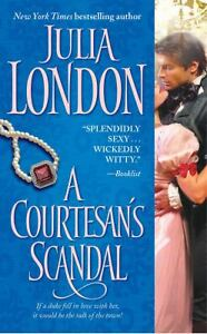 A-Courtesans-Scandal-by-Julia-London-2009-Paperback