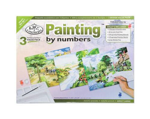 So gestalten Sie mit Malen nach Zahlen traumhafte Landschaftsbilder