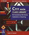 C++ Math Class Library, Scott N. Gerard, 0471592439