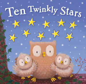 Ten Twinkly Stars (Moulded Counting Books), Good Condition Book, , ISBN 97818485