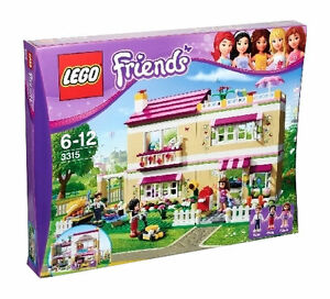 LEGO-3315-Friends-Olivias-House-New-Sealed-Free-US-Shipping
