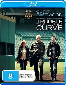 *New & Sealed* Trouble With The Curve (Blu-ray, 2013) Clint Eastwood Movie