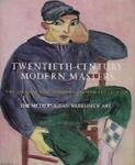 Twentieth-Century Modern Masters, William S. Lieberman and Sabine Rewald, 0810910373