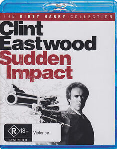 SUDDEN IMPACT [ BLU RAY [ B ]  1983 = CLINT EASTWOOD.=SEALED.