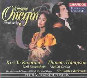 Tchaikovsky: Eugene Onegin CD NEW