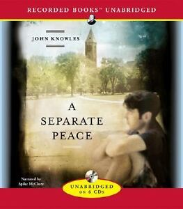 the symbolism in a seperate peace by john knowles The novel, by john knowles, tells the story of world war ii breaking into and destroying the prep school idyll of two adolescent boys, gene and phineas nonetheless, a separate peace is filled with fine writing.