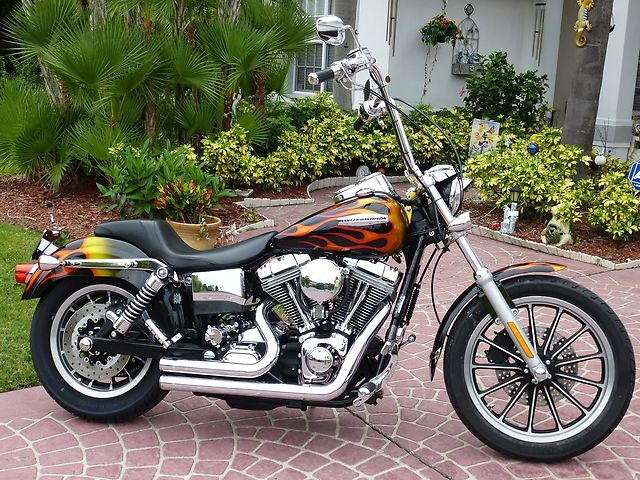 2002 Custom Dyna Low Rider Amazing Paint Tons Of Chrome