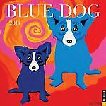 Blue Dog 2014 Wall Calendar by George Rodrigue (2013, Calendar)