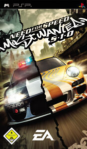 Need For Speed: Most Wanted 5-1-0 (Sony PSP, 2005)