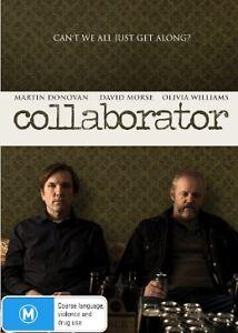 COLLABORATOR DVD Martin Donovan David Morse Olivia Williams (NEW & SEALED) R4>
