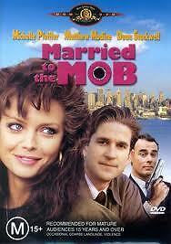 Married To The Mob (1989) Michelle Pfeiffer - NEW DVD - Region 4