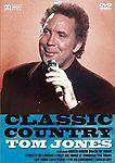 CLASSIC COUNTRY TOM JONES DVD UK ORIGINAL BRAND NEW NOT SEALED
